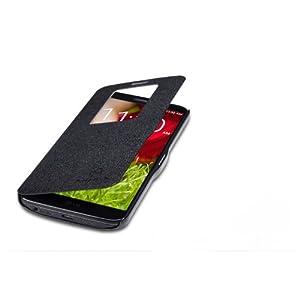 Nillkin Fresh S View Leather Flip Cover Case For LG Optimus G2 D802 F320 - Black