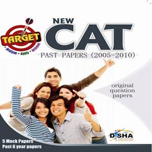 Target New CAT - Past Papers (2005 - 2010) + 5 Mock Tests