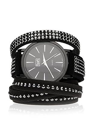 Spark Uhr mit Miyota Uhrwerk mit 2 Alcantara Armbändern  40mm