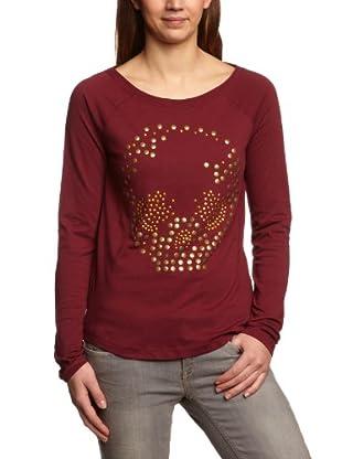 ONLY Sweatshirt, Rundhals (Rot)