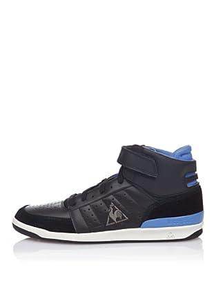 Le Coq Sportif Botas Retro Sport Diamond Lea (Negro / Azul)