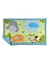 Blanket for growing baby snug. MM-98043 Green