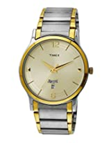 Timex Classics Analog Beige Dial Men's Watch - TW000R426