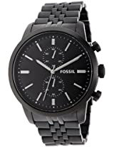 Fossil Townsman Chronograph Analog Black Dial Men's Watch - FS4787