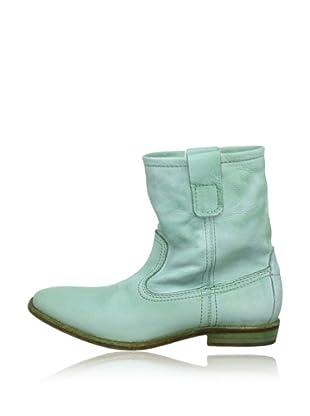 Buffalo London ES 30195 GARDA SPRUZZATO 142327 - Botas de cuero  mujer (Verde)