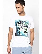 White Round Neck T-Shirts
