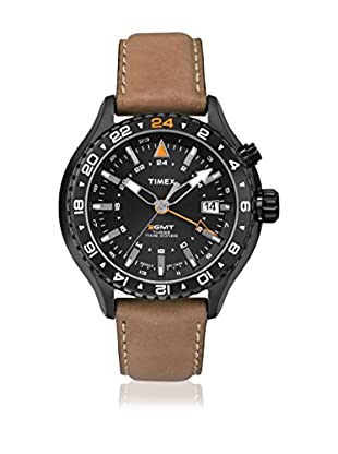 TIMEX Reloj de cuarzo Man Intelligent GMT Marrón 47 mm