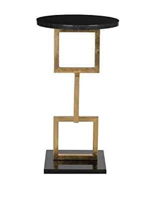 Safavieh Cassidy Accent Table, Gold/Black