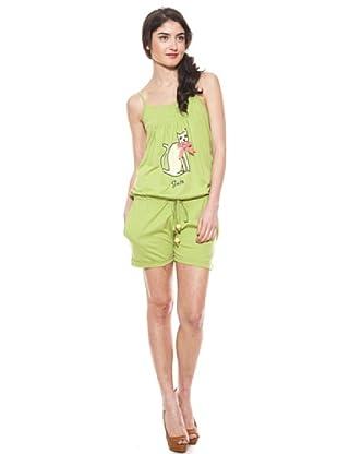 La Casita de Wendy Mono Gato (Verde)