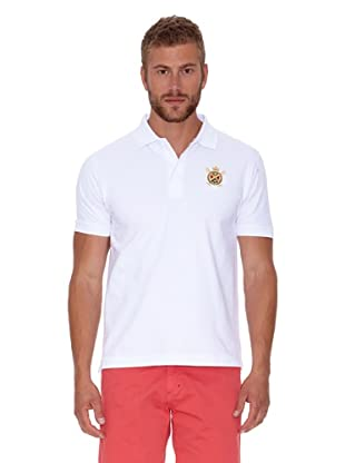 Polo Club Polo Custom Fit Básico (Blanco)