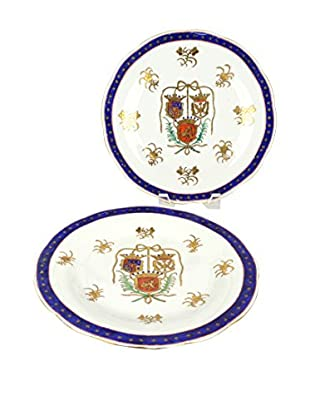 Uptown Down Previously Owned Set of 2 Decorative Plates
