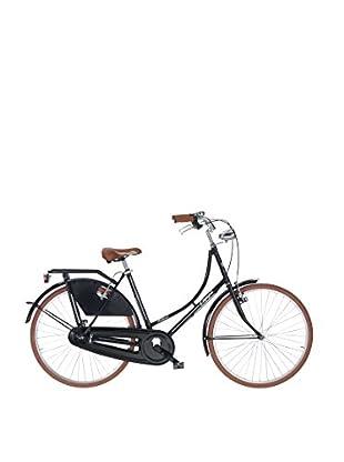 Linea Fausto Coppi Fahrrad Holand Steel Liberty schwarz