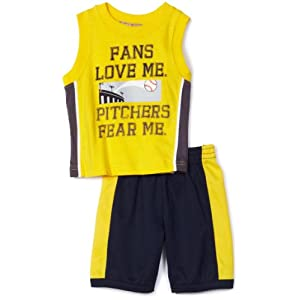 Kids Headquarters Baby-Boys Infant KHQ 2 Piece Sleeveless Short Set