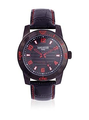 Lancaster Reloj de cuarzo Man Timeleader Black 45 mm