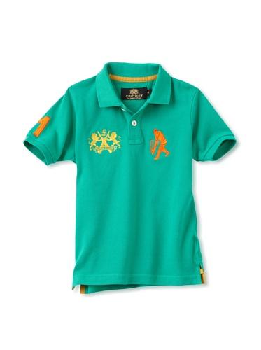 Sher Singh Boy's Classic Polo (Green)