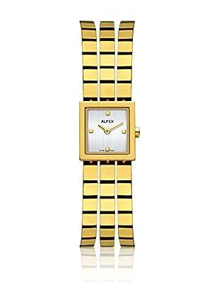 Alfex Quarzuhr 5655_021 18 x 18 mm gelbgold