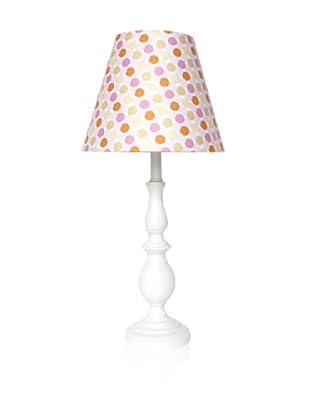 Nova Soliel Lamp, Rose Polka Dot