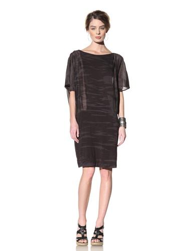 Nola Z Women's Angel Wing Dress (Black)