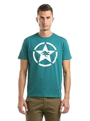 Hot Buttered T-Shirt Circle Star