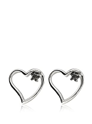Pendientes Black Diamond Heart