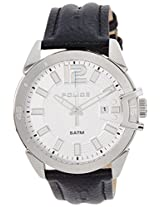 POLICE Analog White Dial Men's Watch - PL14105JS04J