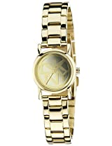 DKNY Analog Gold Dial Women's Watch - NY8855