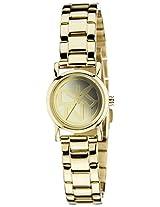 DKNY Analog Gold Dial Women's Watch - NY8855
