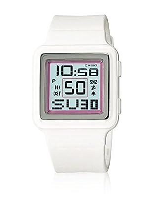 Casio Reloj con movimiento cuarzo japonés Woman LDF-20-7A Blanco