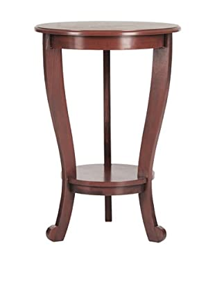 Safavieh Mary Pedestal Side Table, Red
