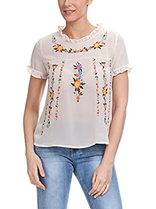 TANTRA Blusa With Embroidery Flowers