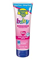Banana Boat Baby Sunscreen Lotion SPF 50, 8 Ounce