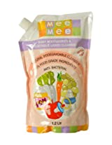Mee Mee MM- 1304 Baby Accessories & Vegetable Liquid Cleanser, 1.2Ltr