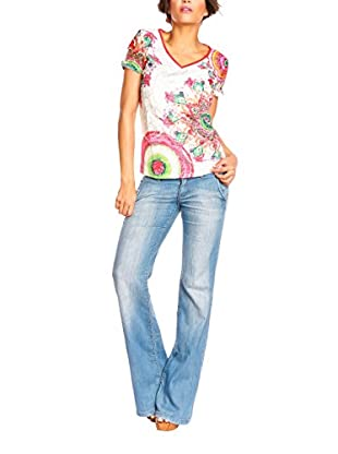 Spring Styles T-Shirt Manica Corta Claire