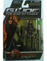 G.I. Joe The Rise of Cobra 3 3/4 Action Figure Baroness Attack on the G.I. Joe P