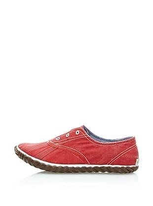 Sorel Zapatillas Picnic Plimsole (Rojo)