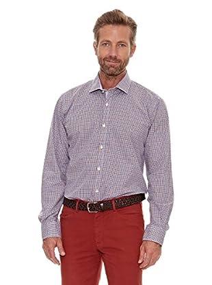 Cortefiel Camisa Cuadros (Beige)