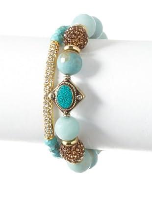 Devoted Set of 2 Amazonite Bracelets