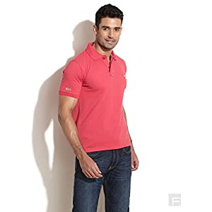 Polo Tee With Metal Buttons