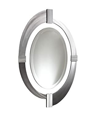 Jon Gilmore Intersections Oval Mirror (Silver)