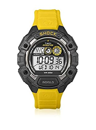 TIMEX Reloj de cuarzo Man Expedition Shock Amarillo 48 mm