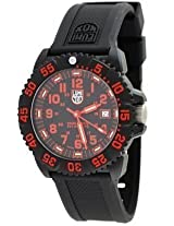 Luminox #3065 Men's Navy Seal Colormark - 3050 Series Watch (Black Dial/Red Print)