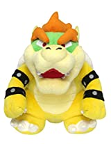 "Sanei Super Mario All Star Collection 10"" Bowser Plush, Small"