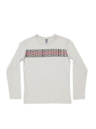 BIKKEMBERGS Camiseta Kids (gris claro)