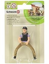 Schleich Recreational Rider Play Set, Purple