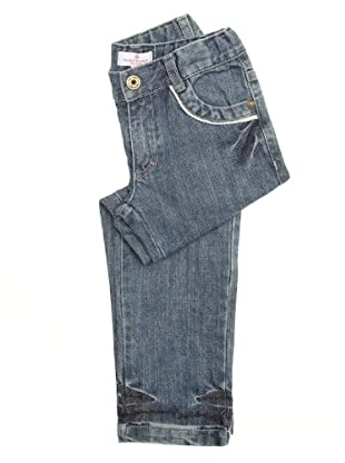 Naf Naf Chevignon Pantalón Ribete (azul oscuro)
