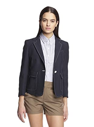Band of Outsiders Women's Schoolboy Jacket (Navy)