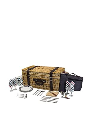 Picnic Time Carnaby Street Picnic Basket With Deluxe Service For 4