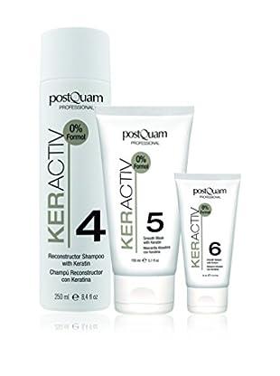 PostQuam Haarpflege 3er Set Shampoo 250 ml, Smooth Mask 150 ml, Smooth Balsam
