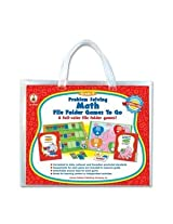 Carson Dellosa Problem Solving Math Game, W/ 6 Games, Grade K, Sold As 1 Each, Cdp 140004