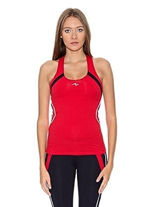 Naffta Camiseta Spinning (Rojo / Negro)